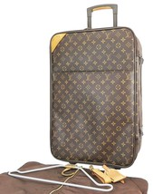 Authentic LOUIS VUITTON Pegase 55 Monogram Canvas Travel Rolling Suitcas... - $1,029.00