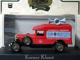 Chevron/Standard Oil Announcer Car  - DieCast by Lledo - $13.50