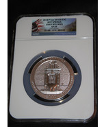 2010 P Silver 5oz. Hot Springs National Parks America The Beautiful NGC ... - $302.88