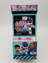 LOL Surprise Boys Arcade Heroes Action Figure Doll with 15 Surprises NEW... - $16.82
