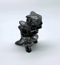 "Max Toy ""Smoke"" Clear Black Mini Mecha Nekoron image 5"