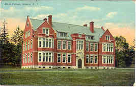 Smith College Geneva New York Vintage Post Card  - $6.00