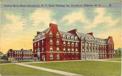 Primary image for State Teachers College Albany New York Vintage Post Card