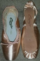Capezio Nicolini N156X Pointe Shoes Size 2.5C 2.5 C - $51.23