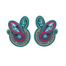 KPACTA 2019 New Ethnic Tassel Earring Jewelry For Women Rhinestone Souta... - $16.70