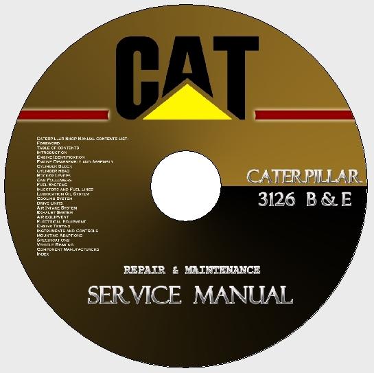 caterpillar 3126 operation and maintenance manual