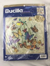 Bucilla Butterfly Collage Needlepoint Kit 4702 Baatz Picture or Pillow N... - $46.74