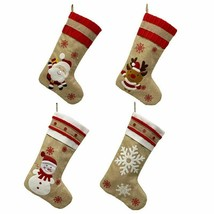High Brand Christmas Socks Gift Bag With Christmas Fashion Theme Pattern... - $13.35