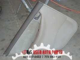 2005 TOYOTA COROLLA LEFT REAR DOOR TIRM PANEL