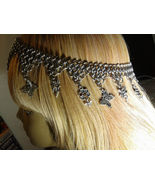 Handmade Chain Mail Circlet Head Piece Fairy Charms Renaissance Costume ... - $60.00