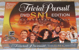 Trivial Pursuit SNL DVD Edition New Sealed 2004 Game  - $18.99