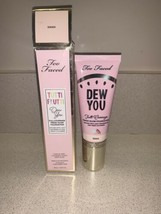 NEW TOO FACED Tutti Frutti Dew You Full Coverage Glow Foundation SWAN - $19.79