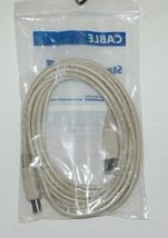 Startech USBFAB15 USB 2.0 15 Foot Beige A Male B Male Cable image 3