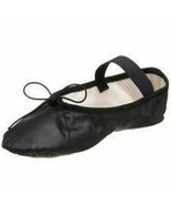 So Danca BA14 Adult Size 3.5M (Fits 5.5) Black Leather Full Sole Ballet ... - $12.99