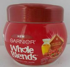 Whole Blends Hair Treatment Moroccan Argan Oil Cranberry Extract GARNIER 10.1oz - $9.89