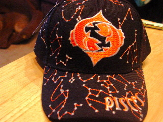 Primary image for PISCES BASEBALL CAP ( ZODIAC SIGN )