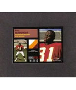 2001 Fleer Tradition Rod Gardner Three Color Jersey Card Was - $3.99