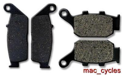 Honda Disc Brake Pads NTV600 1988-1991 Front & Rear (2 sets)