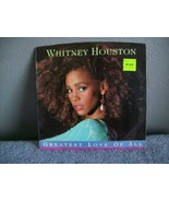 WHITNEY HOUSTON - GREATEST LOVE  OF ALL 45 - $5.00