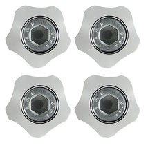 Security License Plate Bolts, Bolt For License Plate, Chrome License Pla... - $10.99
