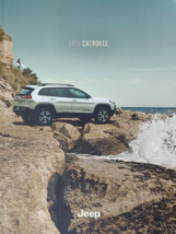 2015 Jeep CHEROKEE brochure catalog US 15 Limited Trailhawk Latitude Sport - $8.00