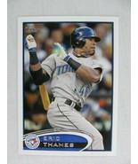 Eric Thames Toronto Blue Jays 2012 Topps Baseball Card 293 - $0.98
