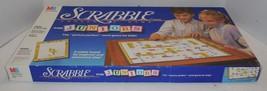 Vintage 1989 Scrabble For Juniors Board Game 100% COMPLETE Milton Bradley - $23.38