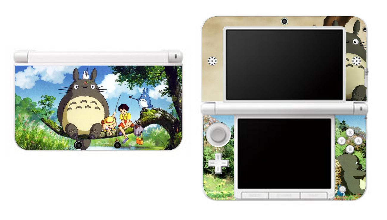 MY NEIGHBOR TOTORO Nintendo 3DS XL LL Vinyl Skin Decal Sticker for sale  USA