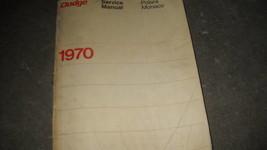 1970 Dodge Polara Monaco Service Repair Shop Manual Oem - $27.97