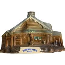 Jim Beam Bottle Ponderosa Ranch House & Lake Tahoe Regal China 1969 VGC - $19.99