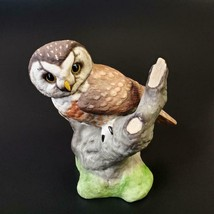 Boehm Porcelain Boreal Owl Figurine Vintage FREE SHIP - $79.50