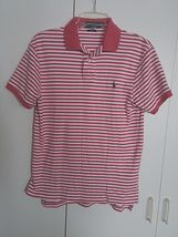 Polo Ralph Lauren Custom Fit Ladies Ss Striped Polo SHIRT-S-GENTLY WORN-COMFY - $8.99