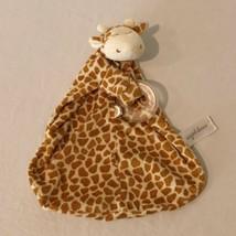 Angel Dear Giraffe Security Blanket Lovey Blanky Blankie Brown Baby Toy - $9.99