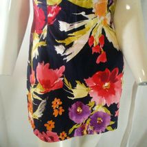 Forever 21 Womens Multicolored Strapless Floral Mini Dress Small image 5