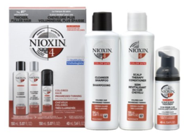 Nioxin System Kit 4 for Color Treated Hair with Progressed Thinning Hair