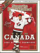 Sports Illustrated MARIO LEMIEUX COVER 2002 TEAM CANADA commemorative ol... - $9.74