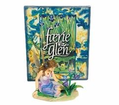 Faerie Glen figurine fairies fairy sculpture magic elf gift NIB box Viol... - $59.35