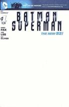 BATMAN SUPERMAN #1 WE CAN BE HEROES BLANK COVERS - $14.99