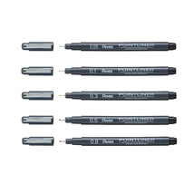 Pentel POINTLINER S20P 0.05, 0.1, 0.3, 0.5, 0.8mm Pigment Drawing Pens (... - $18.99