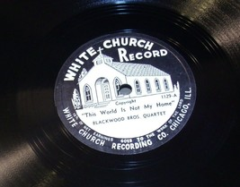 White Church  Record # 1129 AA-191720M Vintage Collectible