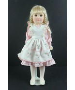 """Vintage 1981 Effan bee Doll 1481 15"""" Day by Day Series Pink Dress w/ Stand - $33.63"""
