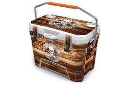 "Ozark Trail Wrap ""Fits 26qt Cooler"" 24mil Skin Full Kit 2nd USA Flag Wood - $56.95"