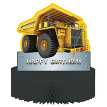 Construction Birthday Zone Honeycomb Centerpiece Cutout/Case of 6 - €39,34 EUR
