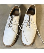 Brooks Brothers White Derby Shoes Men's Size 10 1/2 - $69.29