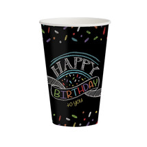 Chalk Birthday 12 oz Hot/Cold Cups, Case of 96 - $54.94