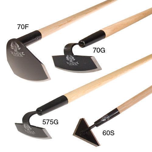 Rogue heavy duty garden hoe old timey high quality tools for Heavy duty garden tools