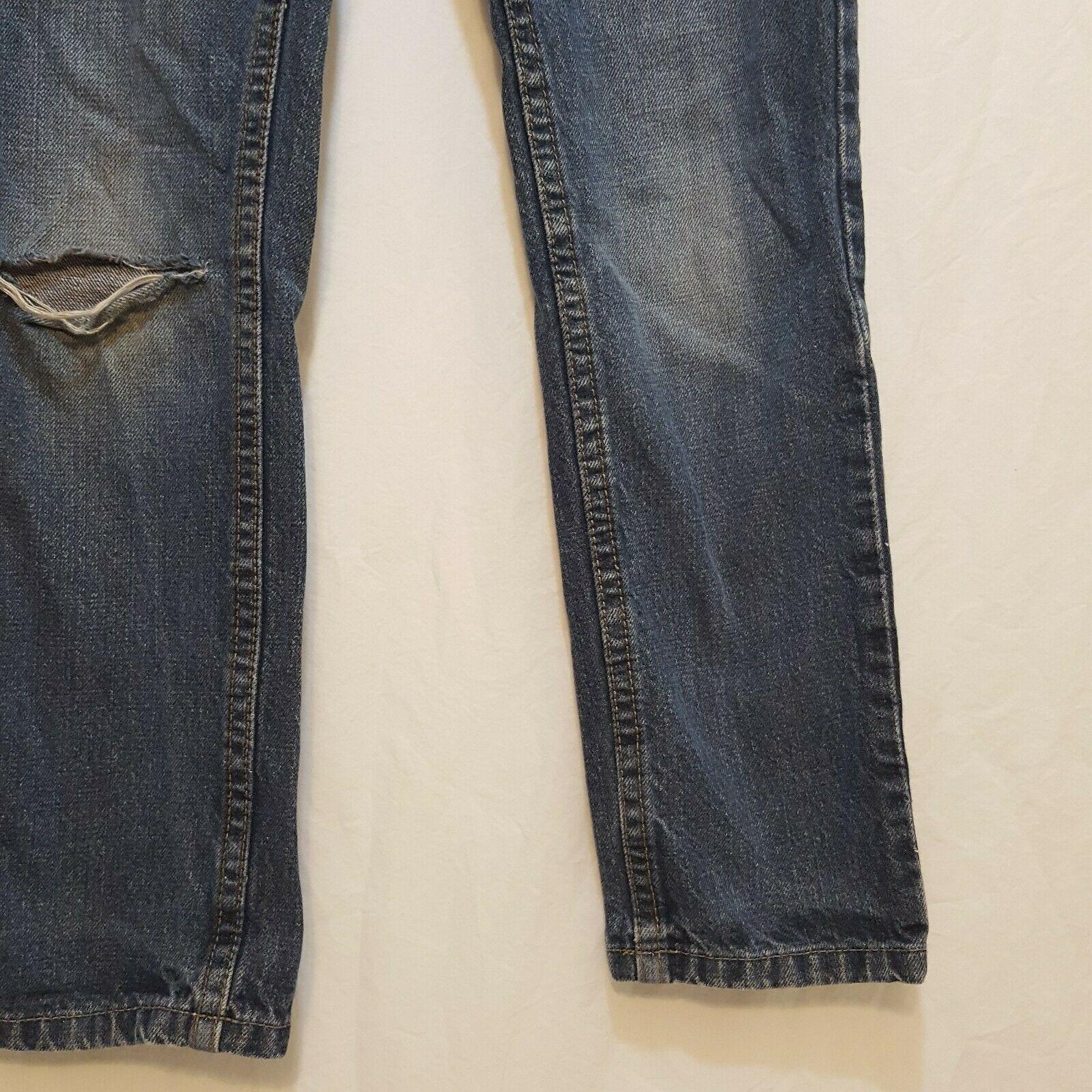Blue Jeans Denim Boys Size 8 Slim Straight Falls Creek