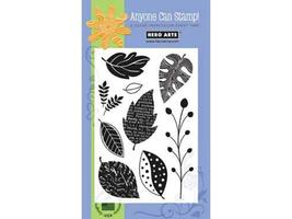 Hero Arts Scattered Leaves Clear Stamp Set #CL298 - $11.99