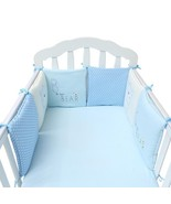 Baby Bed Bumper Protector Newborn Bedding Set Crib Bumper Toddler Cartoo... - $38.28