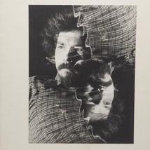 Fotografia Nero e Bianco Doppio Scoperto Man 600ms Vintage Fotografia - $75.57